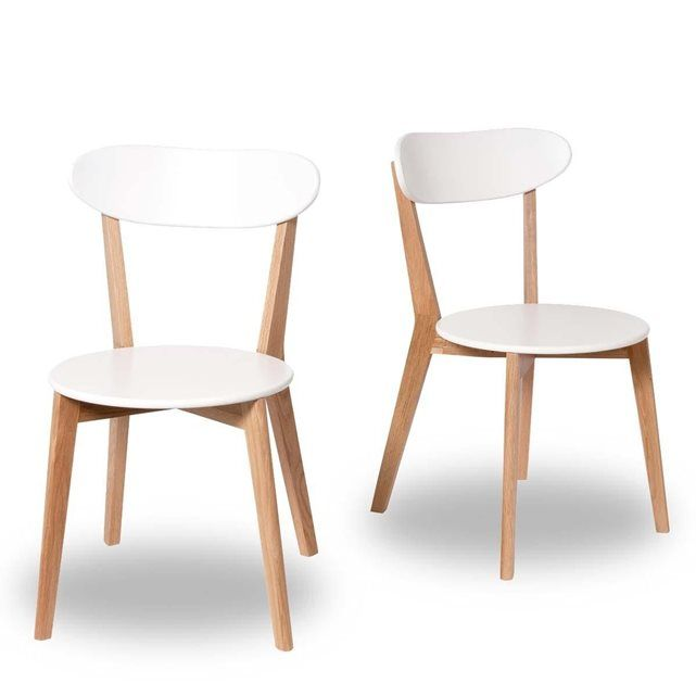 De Design DrawerPrixAvis Lot Vitak Chaises 2 Scandinave y0wOmNn8vP