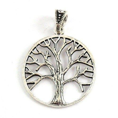 Colgante De Plata árbol De La Vida El Símbolo Del árbol De La Vida