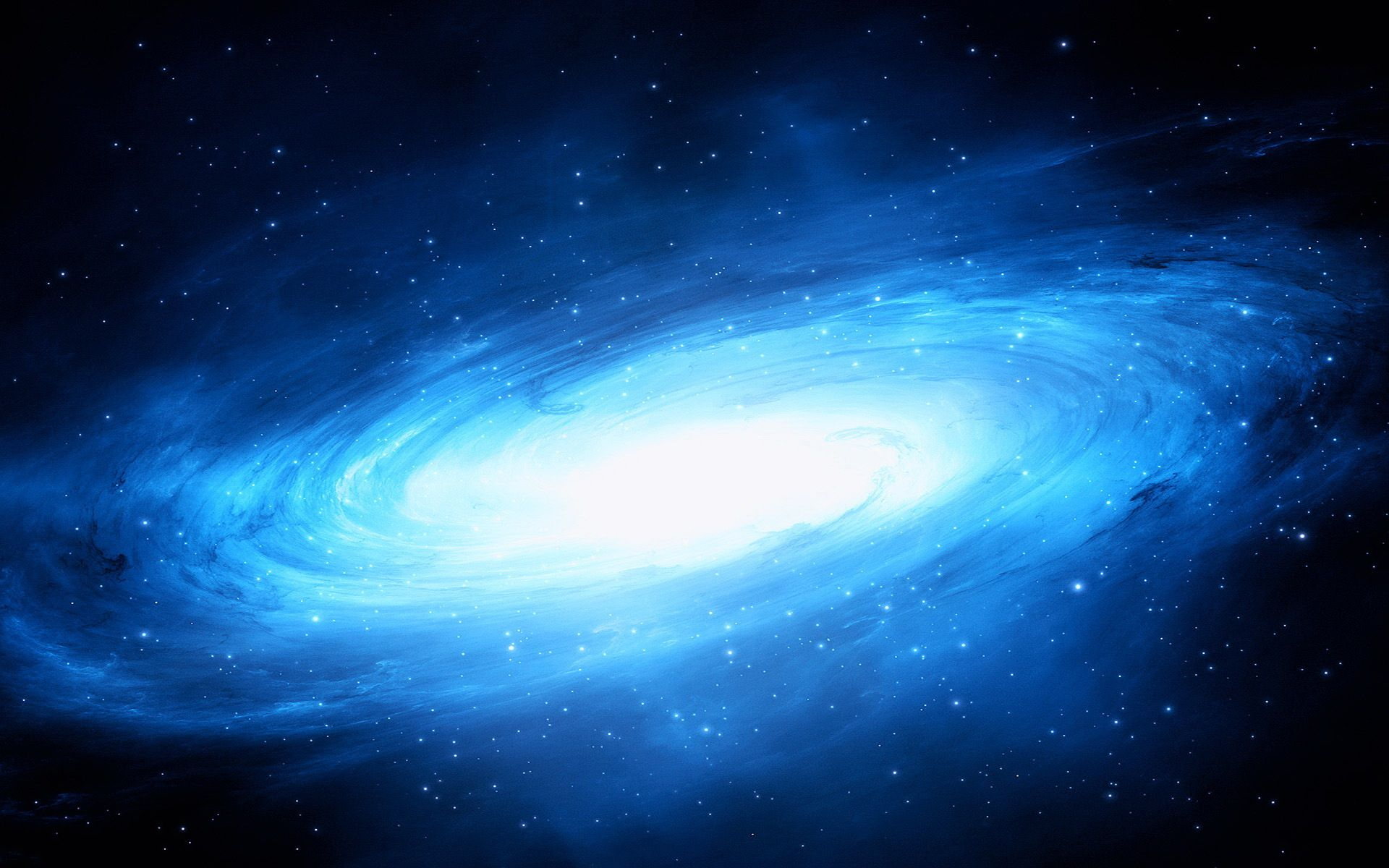 Large Preview Computer Backgrounds Space High Definition Wallpapers Beautiful Blue Galaxy In Space High Defin Wallpaper Space Blue Digital Art Galaxy Wallpaper