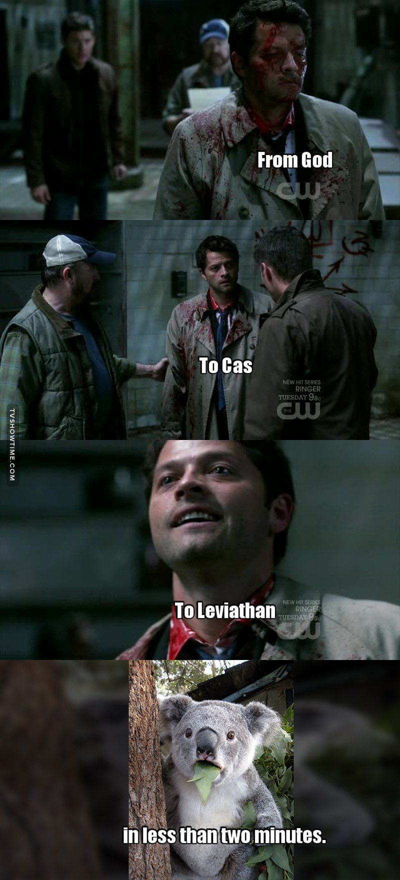 Hands down Misha Collins (No acting needed for the leviathan!cas) #mishacollins