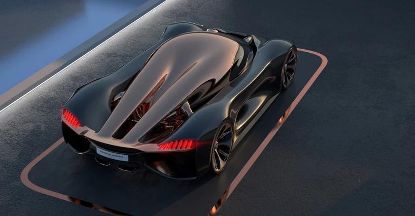 the futuristic koenigsegg 'konigsei' hypercar features an egg-like canopy