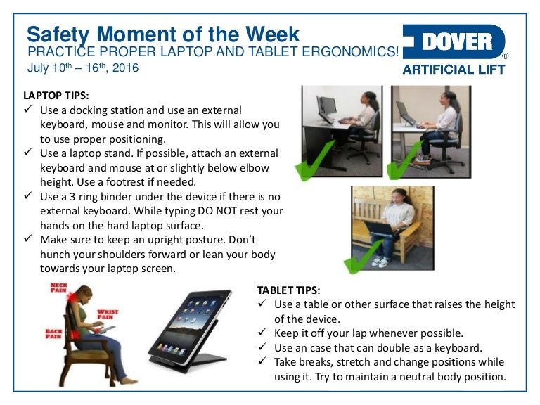 Practice Proper Laptop & Tablet Ergonomics! Alberta Oil