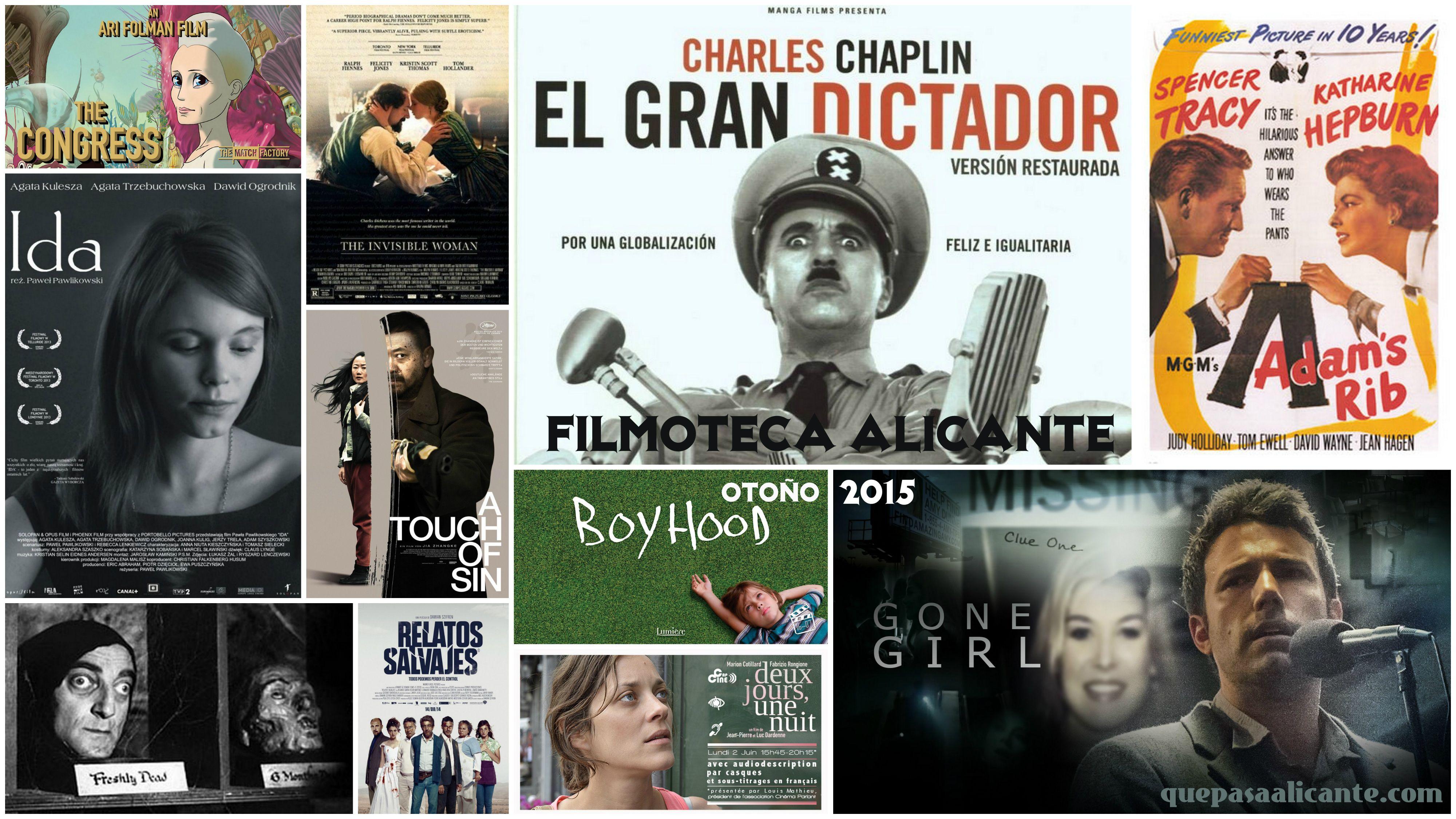 Filmoteca Alicante Otoño 2015