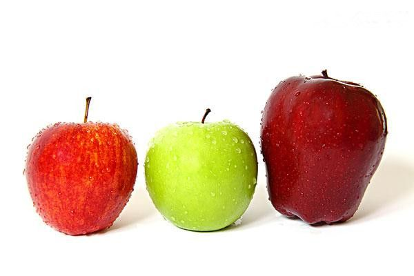 different apples