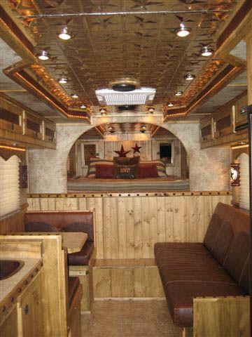 Pine Living Quarters | Horse trailer redo | Livestock ...