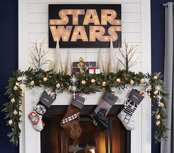 Star Wars Stocking Collection Star Wars Christmas Tree