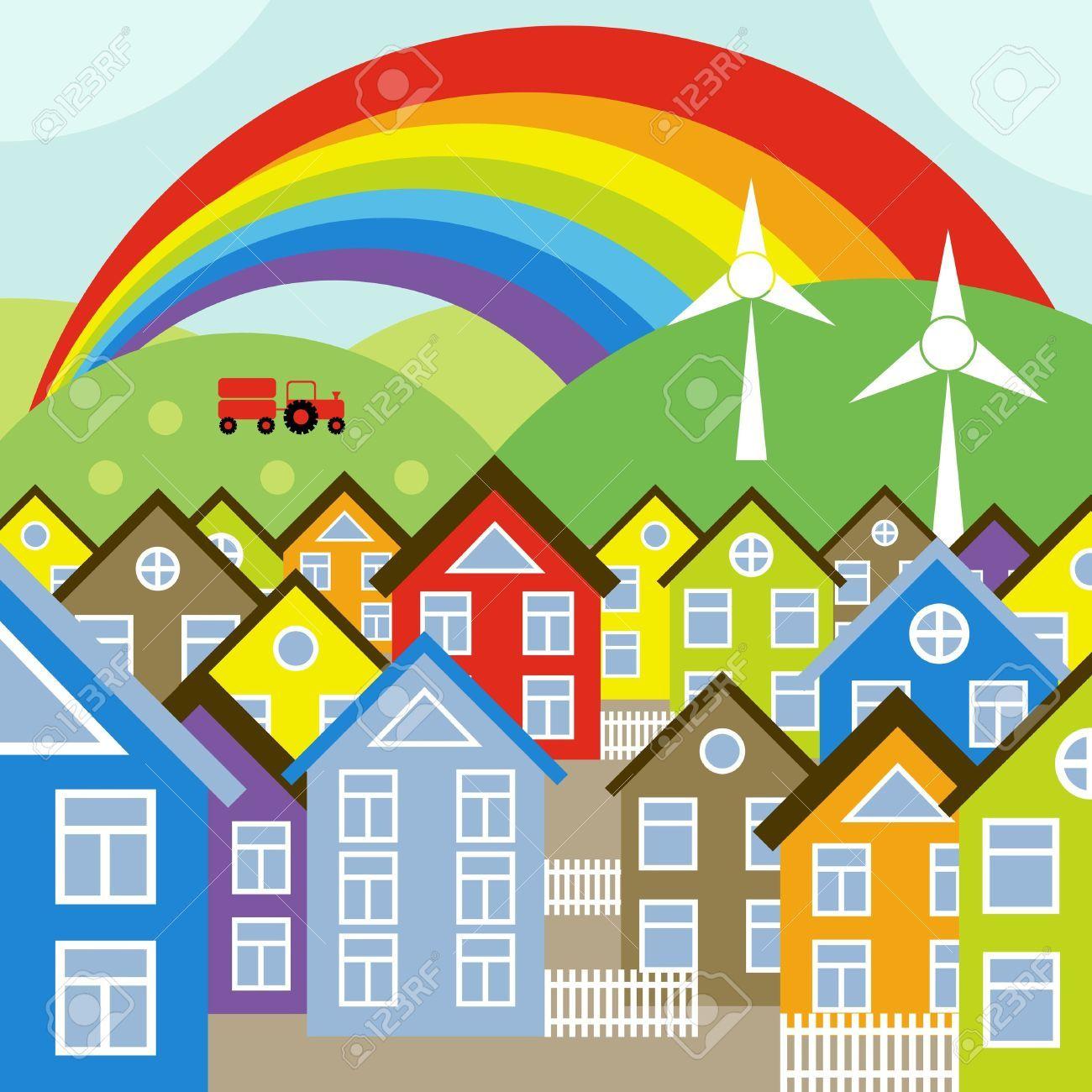 medium resolution of neighborhood street cliparts stock vector and royalty free