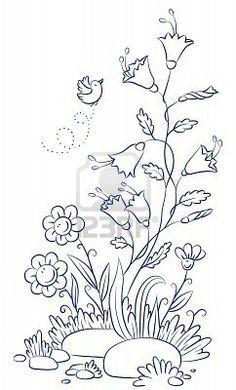 Embroidery Patterns... on Pinterest | Regency Era, Vintage ...