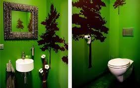Originele binnenmuur idee google zoeken opleuken toilet