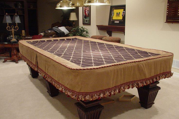 Custom Pool Tables | Custom Pool Table Cover. Fancy!