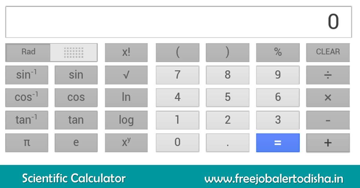Online Scientific Calculator Scientific Calculators Basic Calculators Scientific