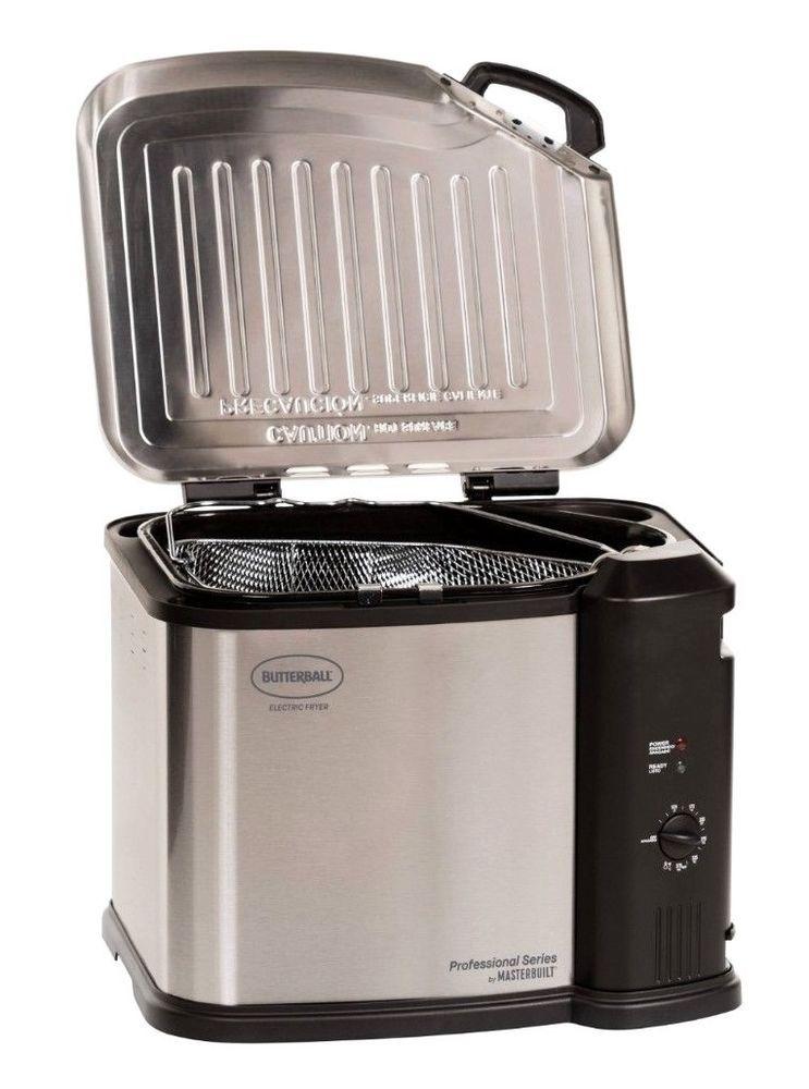 Butterball Xl Turkey Fryer Electric Deep Fryer Steamer Boiler