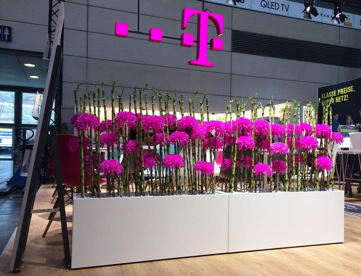 Raumteiler Hamburg raumteiler für die telekom messestand in hamburg hamburgmesse