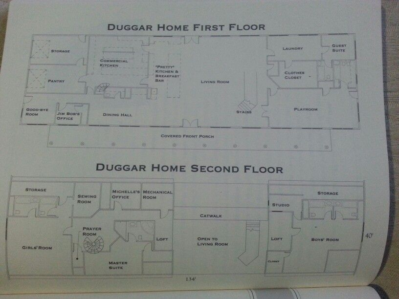 Have always wanted to know what the floorplan to the duggars house is