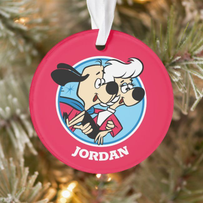 Christmas Rescue Dog Graphics 2020 Underdog Flying To Polly's Rescue Ornament , #Affiliate, #Rescue