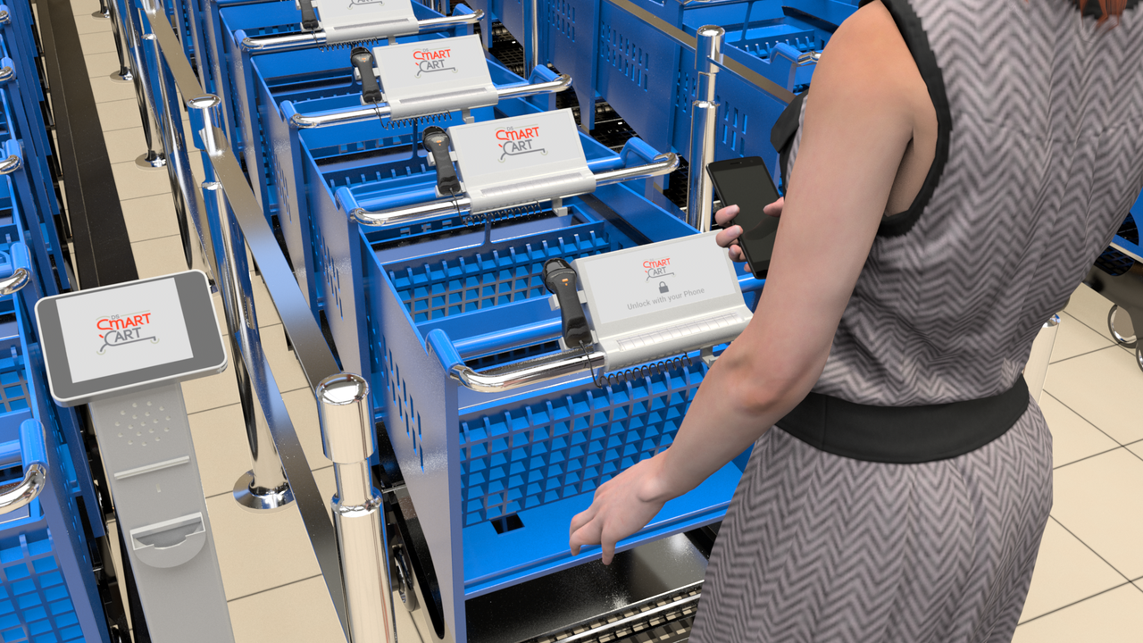 DS Smart Cart Launches New Electronic Shopping Cart That Helps Both Businesses and Consumers