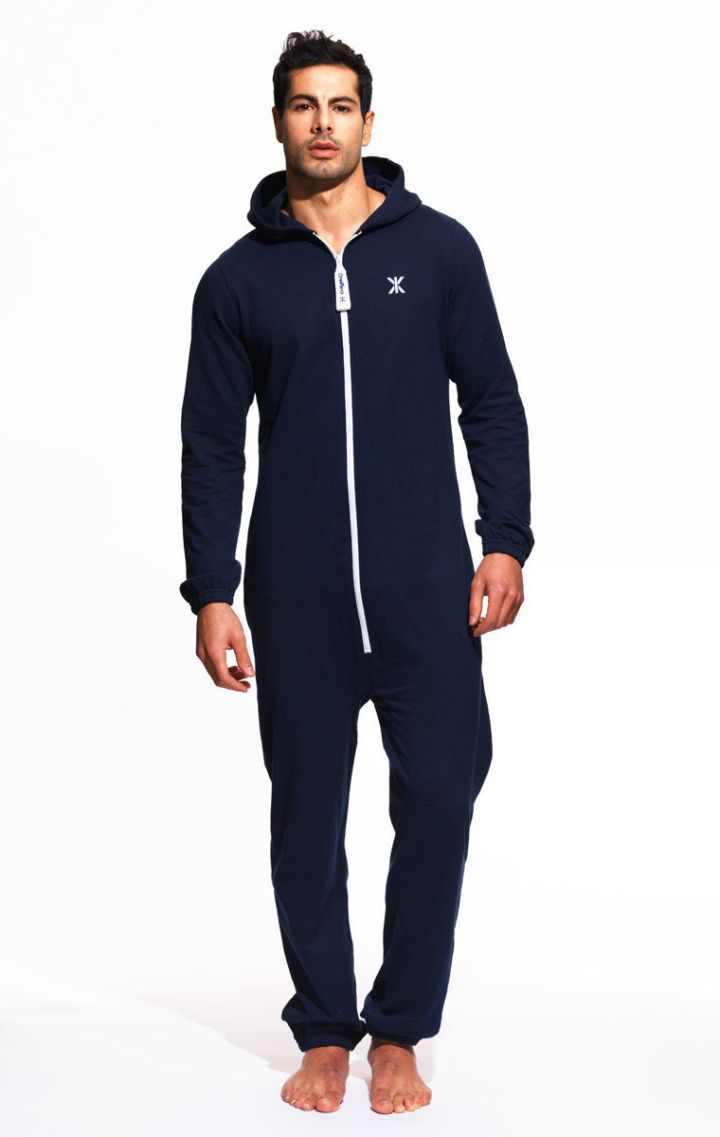 65972c397 Mono Onesie Midnight Blue in 2019 | Yinca | Mens onesie pajamas ...