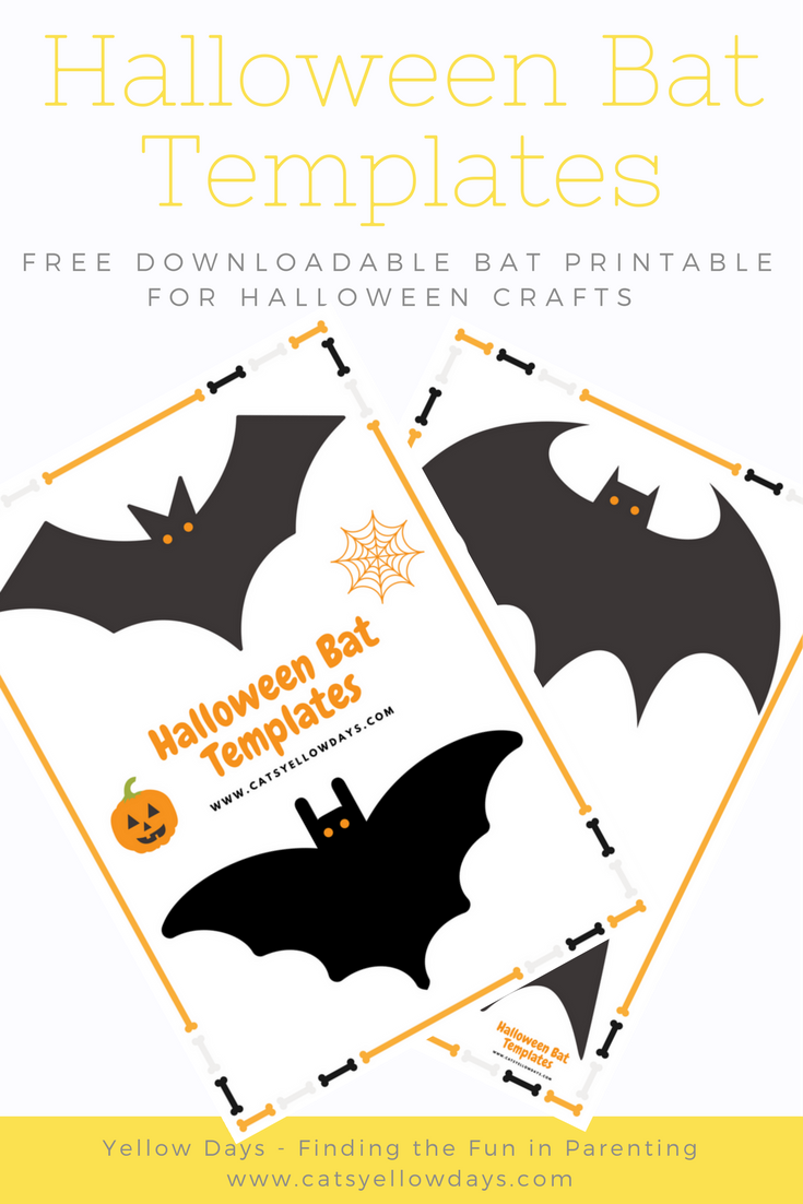 Printable halloween bats - Free Printable Halloween Bat Templates For You Bat Decor And Crafts Bat Cut Out To