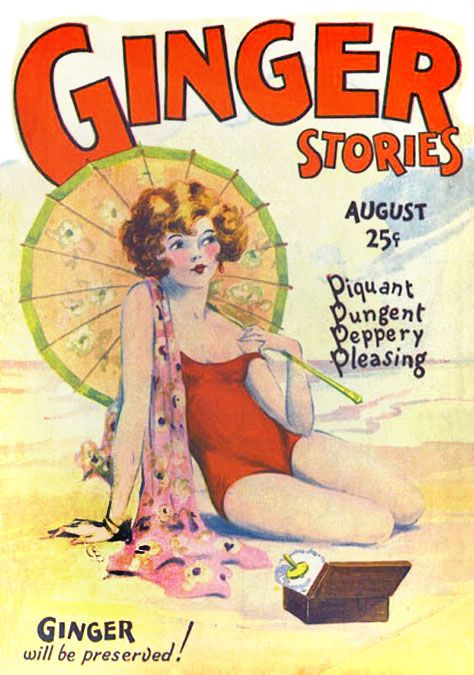 W.C. Brigham, Jr. - Ginger Stories cover