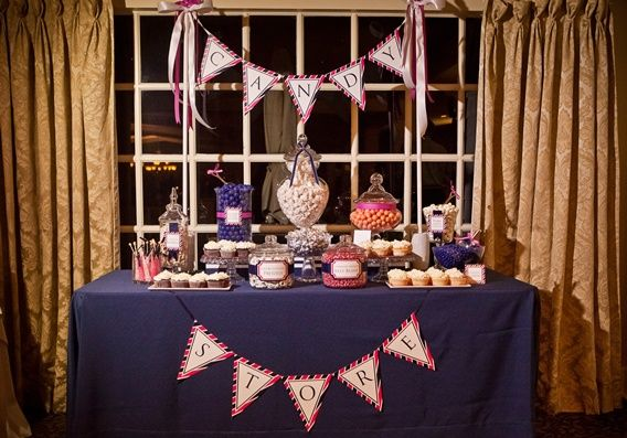 I just can't resist posting more candy buffet pics!