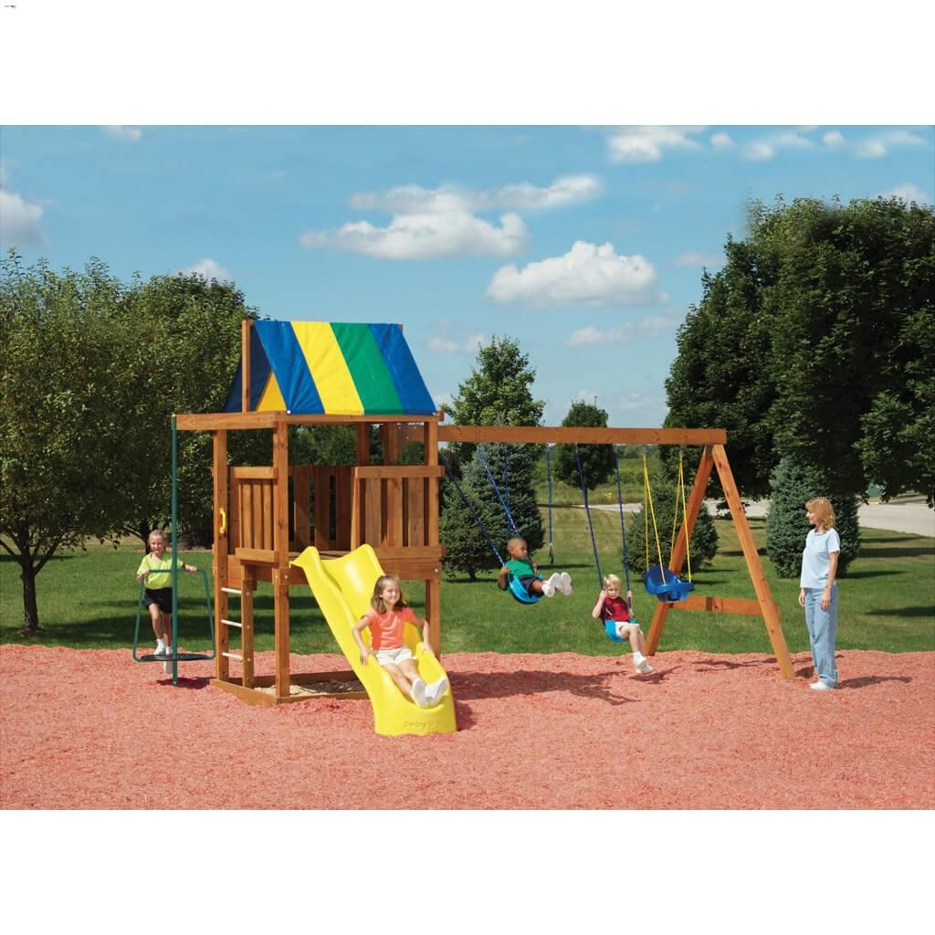 Custom diy play set hardware kit is suitable for the age