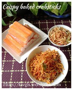 Crispy crabstick snack crab stick snacks and crispy crabstick snack httpsfacebook chinese recipeschinese foodasian forumfinder Image collections
