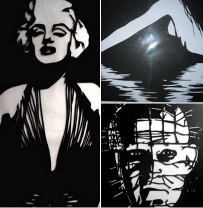 """Papirklip...kunst....unika....helt unikt ...fra Monroe....kvindebryst i vandet ....og """"horror""""...  anderledes...spændende og interessant hvordan Riedel Design med sin saks skaber papirklik...se mere på  Riedel Design / """"Marilyn Monroe http://www.amioamio.com/da/produkt/89771/  Riedel Design / """"Lady in the water"""" http://www.amioami Kom ud over Stepperne med din Kunst & Designs - sign up til nyhedsbrev på www.dorthewalbum.dk og få GRATIS online workshoppen """"Fra Hobby til Business"""" ( værdi…"""