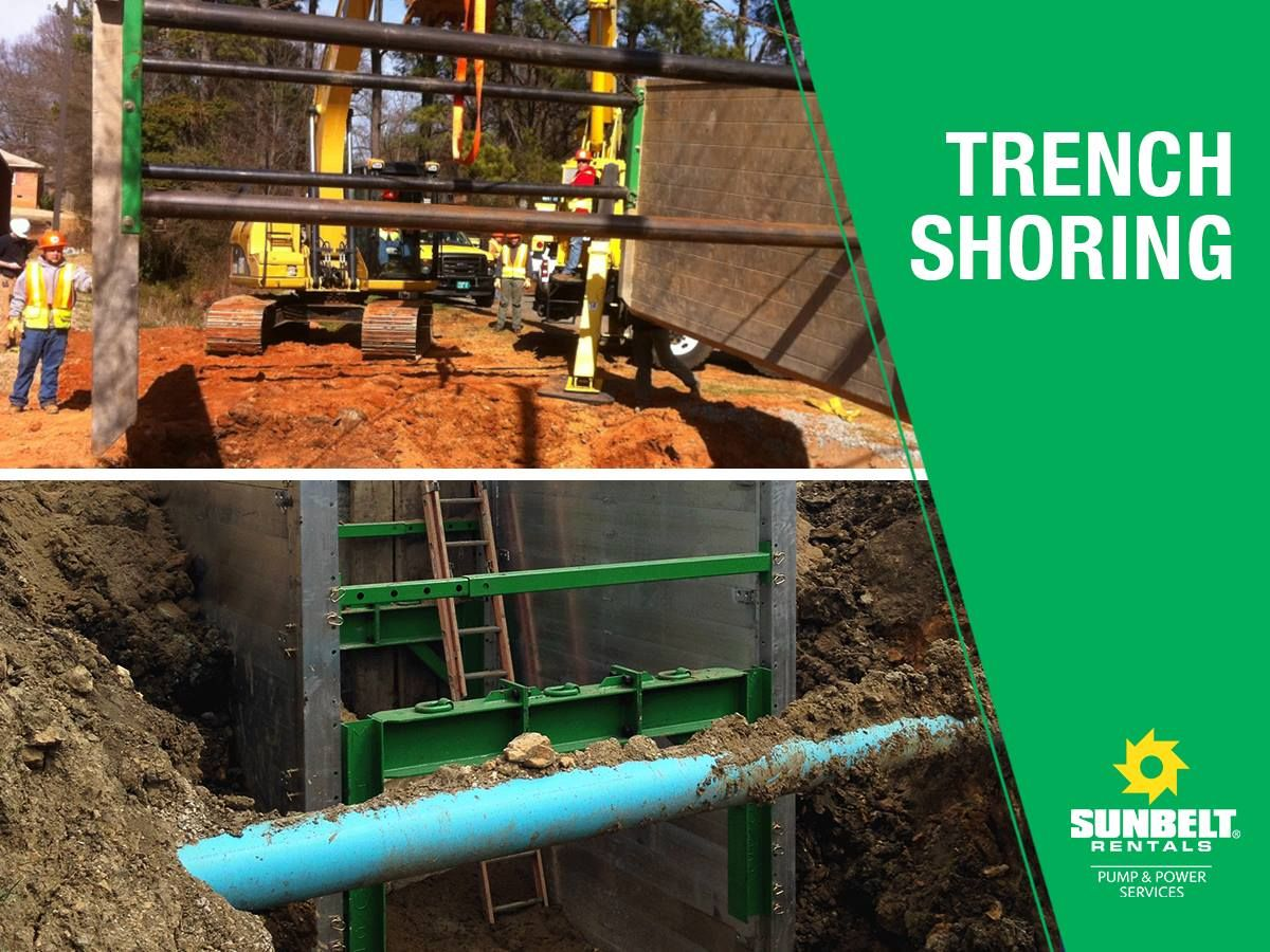 Below Ground Sunbelt Rentals Offers A Variety Of Trench