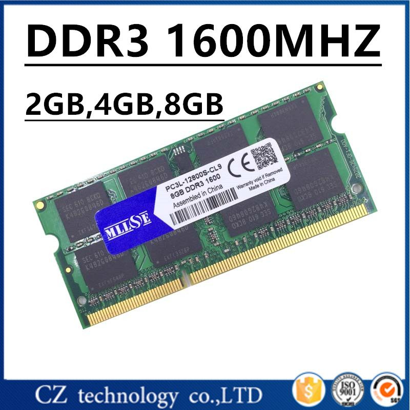 Sale Ddr3 Ram 4gb 2gb 8gb 16gb 1600mhz 1600 Pc3 12800 So Dimm Laptop