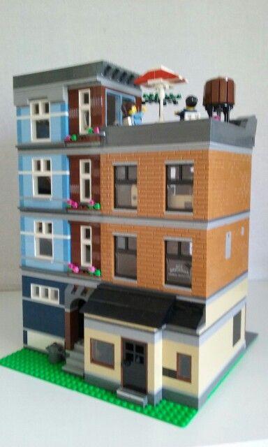 larger pool hall | Lego ideas | Pinterest | Lego and Lego ideas