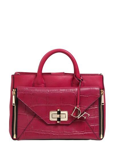 DIANE VON FURSTENBERG 440 LEATHER SHOULDER BAG #london #shopping #fashion #retailer #gng