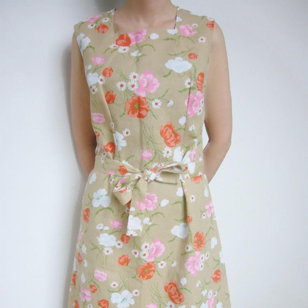 1960s Tan Floral Shift Dress 60s Vintage Mod Park East Swirl Etsy Shift Dress Floral Shift Dress Vintage Shift Dress [ 999 x 1000 Pixel ]