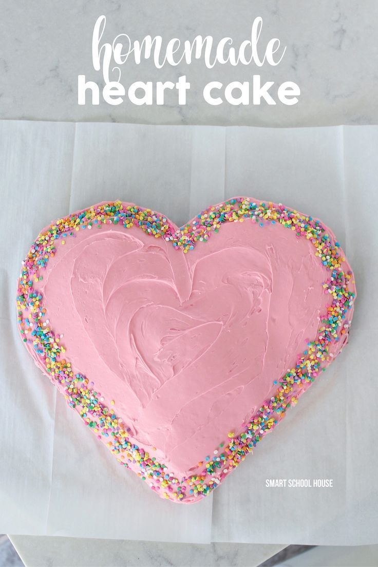 How To Make A Heart Cake With Images Heart Shaped Cakes Heart