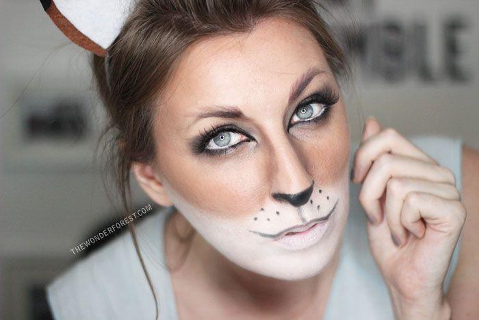 fox makeup tutorial for halloween fox makeup foxes and tutorials