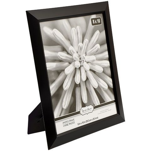 Bulk Special Moments Black Angled Picture Frames, 8x10 in. at ...