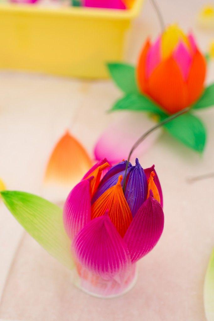 Making South Korean Lotus Flowers Kids Travel Activities Korean
