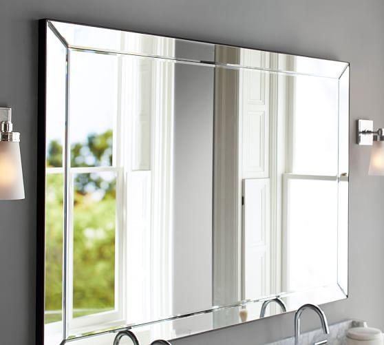 Astor Double Wide Rectangular Mirror