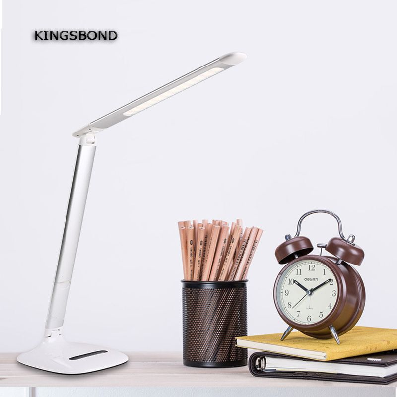 Adjustable Usb Powered 10w Led Desk Lamp Touch Switch And Touch