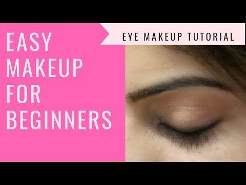 easy eye makeup tutorial for beginnerseveryday makeup