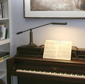 House Of Troy Grand Piano Lamp P10 191