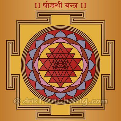 Shodashi Yantra | Sri Vidya in 2019 | Hindu mantras, Vedic