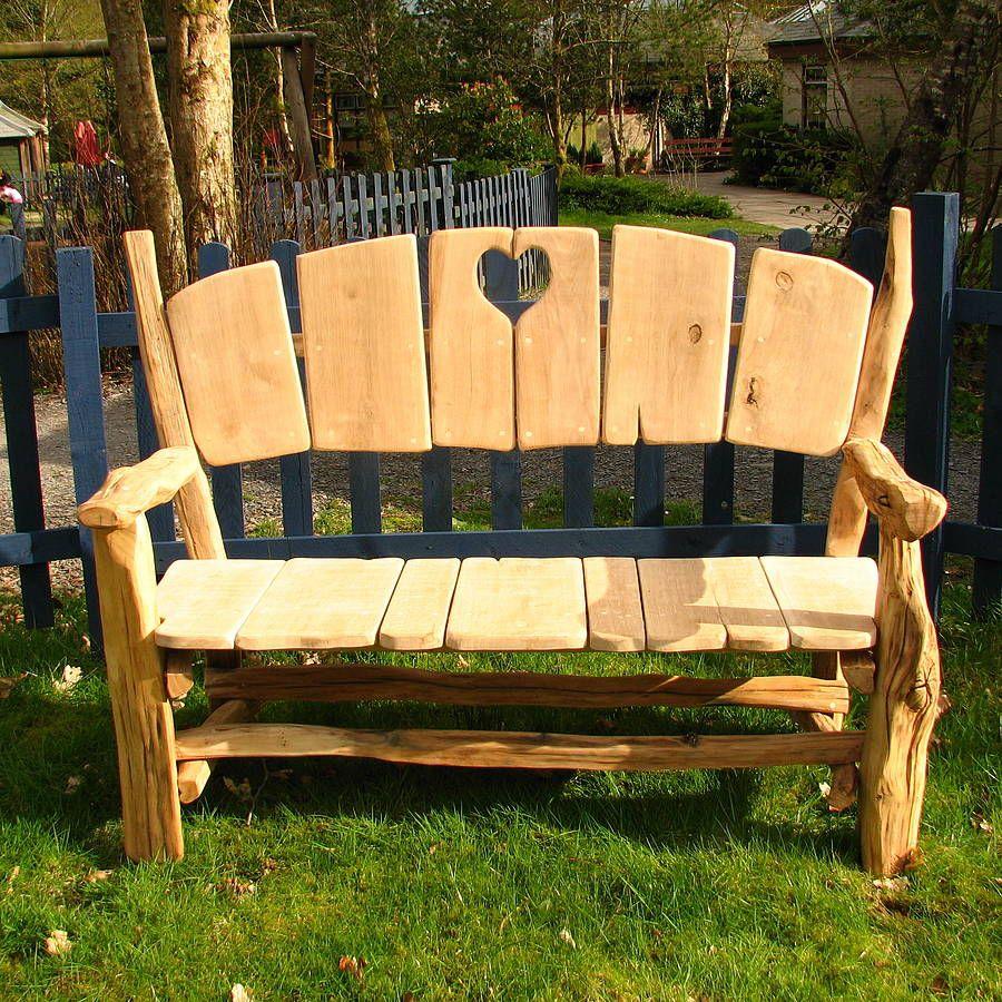 Heart Garden Bench By Free Range Designs 400 x 300