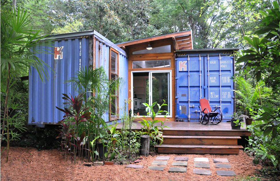 Shipping Container Cabin 20 modern shipping container homes | ships, tiny houses and house