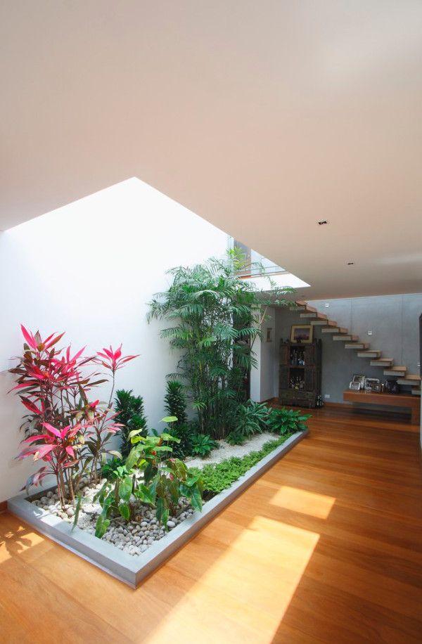 10 Modern Houses With Interior Courtyards Interior Garden