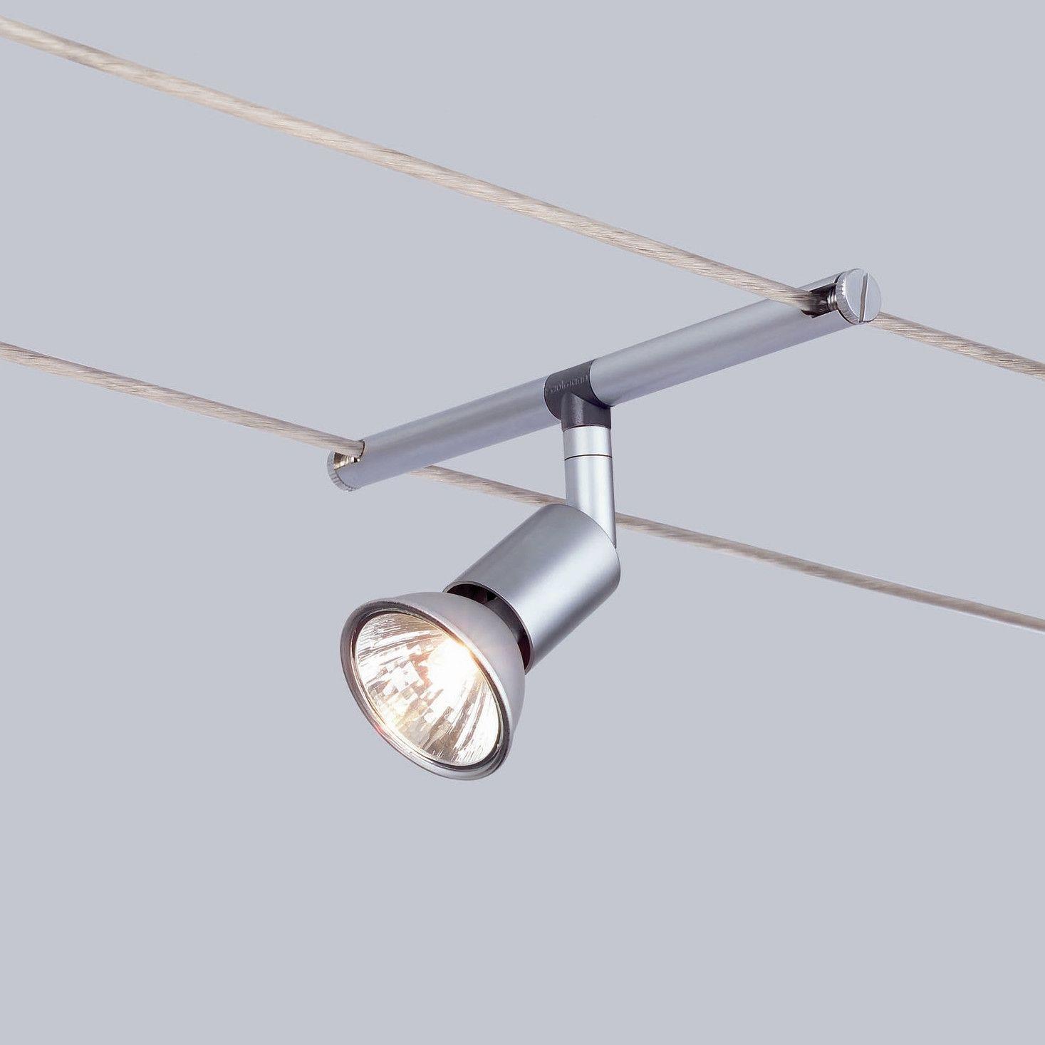 Paulmann Wire 12V 5 Light Track Spice Salt 105 Complete Systems Set ...