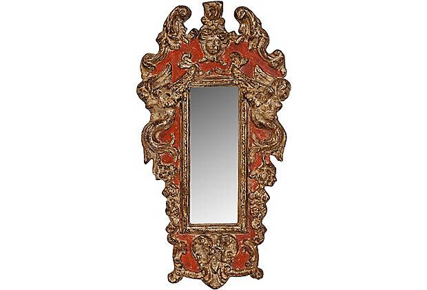 Italian Mirror Accent Pieces Mirror Decor