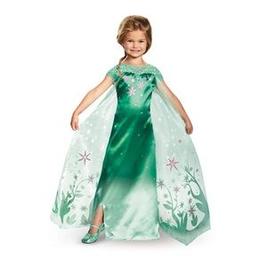 Deluxe Elsa Frozen Fever Girls Costume - Kids Costumes. Use Discount code OP2000 at checkout for 20% your costume and accessorie order at www.officialprincesscostumes.com!