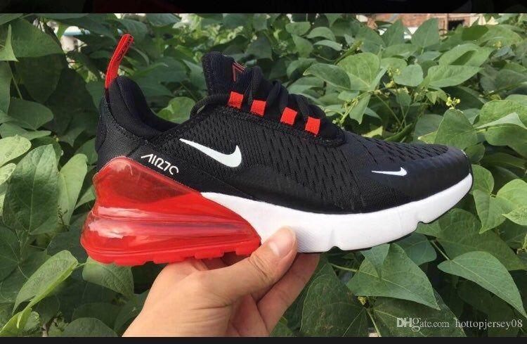 Nike 270s black red white size 8.5
