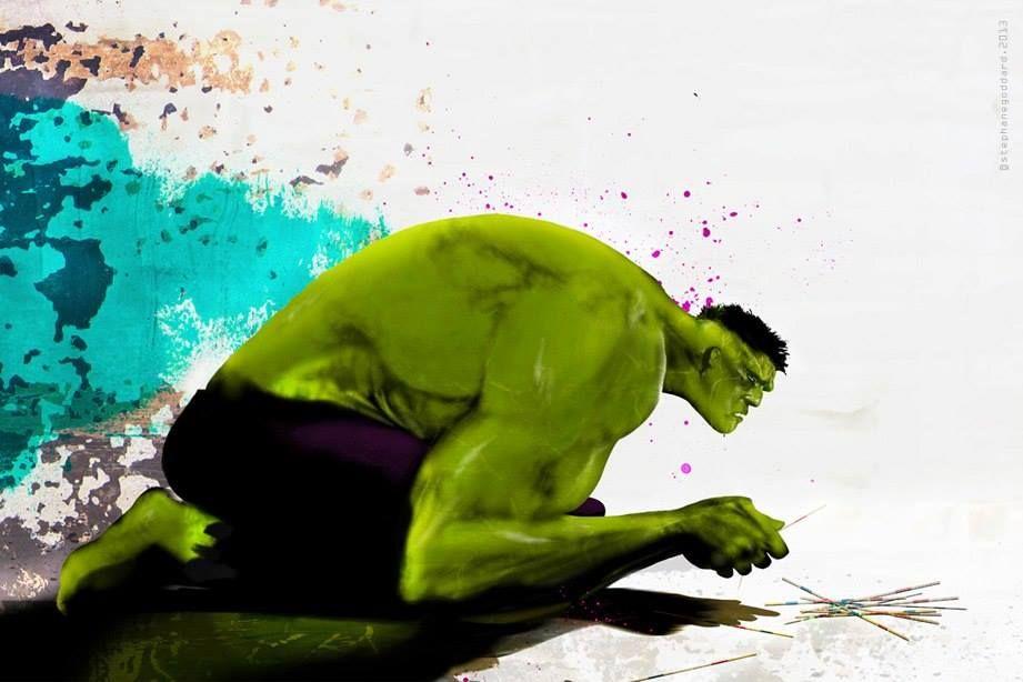 Stéphane Goddard, Hulk (secret hobbies)