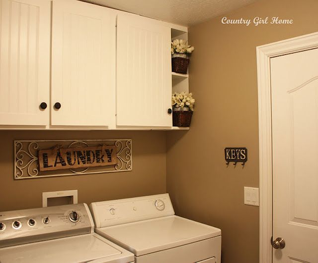 shelves to fill in gap between cabinets and wall laundry. Black Bedroom Furniture Sets. Home Design Ideas